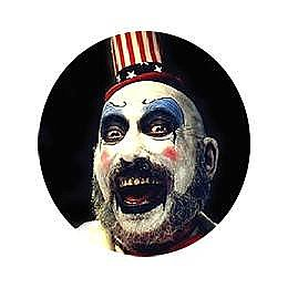 Captain Spaulding Button