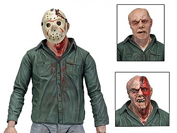"Friday the 13th Ultimate Part 3 Jason 7"" Scale Action Figure"