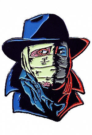 Darkman Enamel Pin