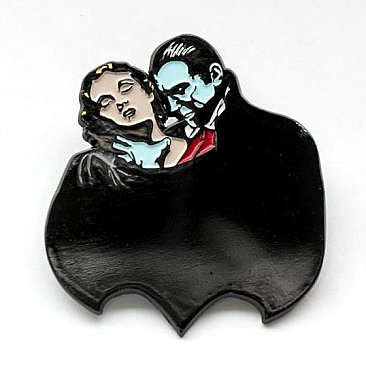 Universal Monsters Dracula Choke Enamel Pin