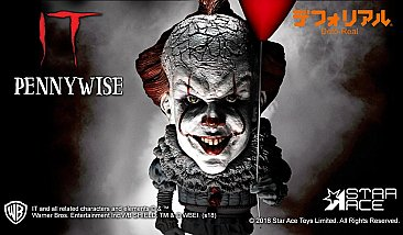 IT Pennywise Defo-Real Soft Vinyl Statue
