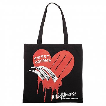 A Nightmare on Elm Street Canvas Tote Bag