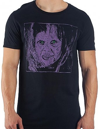 The Exorcist Purple Regan Shirt