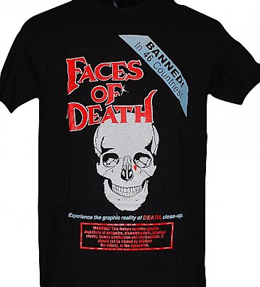 Faces of Death Shirt