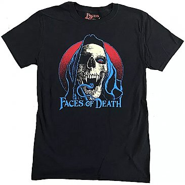 Faces of Death Skull Shirt