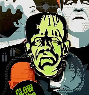 Universal Monsters Frankenstein Monster Enamel Pin