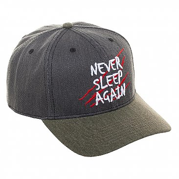A Nightmare On Elm Street Snapback Cap