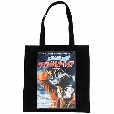 A Nightmare on Elm Street Freddy Tote Bag