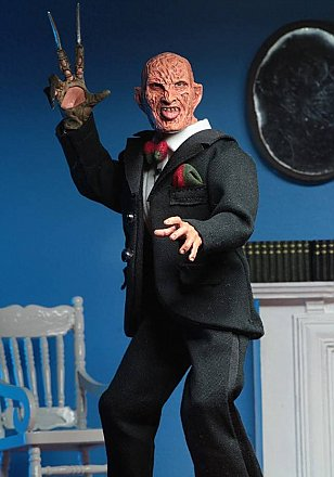 "A Nightmare on Elm Street Tuxedo Freddy 8"" Clothed Figure"