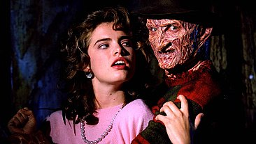 A Nightmare On Elm Street Freddy & Nancy Sticker