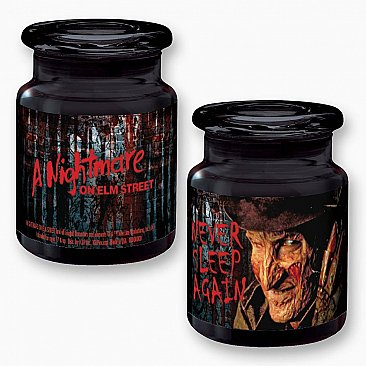 A Nightmare on Elm Street Apothecary Glass Jar with Lid