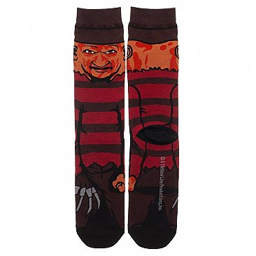 A Nightmare on Elm Street Freddy Socks