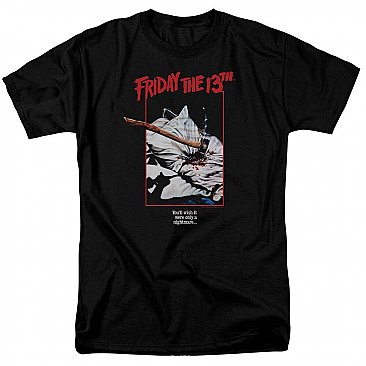 Friday the 13th Axe Poster Shirt