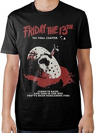 Friday the 13th The Final Chapter Poster Shirt