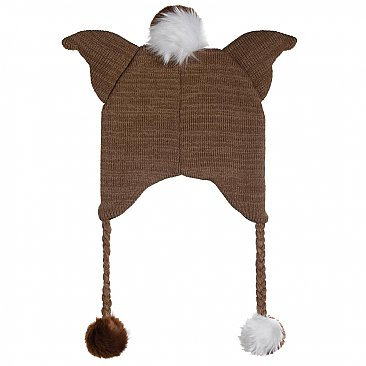 Gremlins Gizmo Big Face 3D Ear Beanie