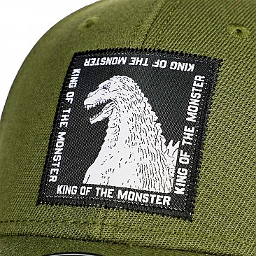Godzilla King of Monsters Pre-Curved Snapback