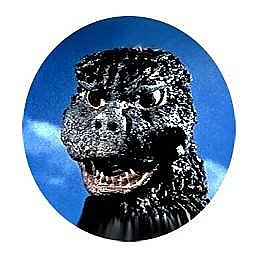 343d58e8f House of Mysterious Secrets - Horror Merchandise & Collectibles > Godzilla  Button