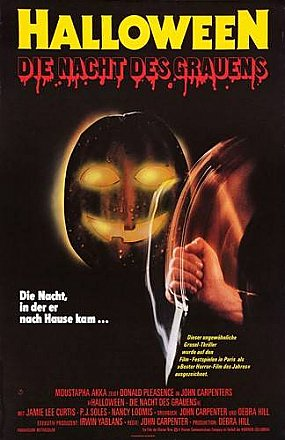 Halloween German Poster