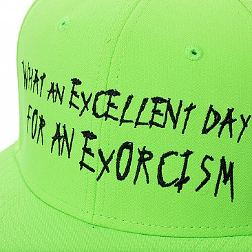The Exorcist Excellent Day Cap