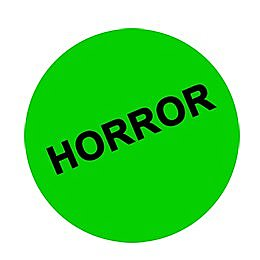 Horror (VHS) Button
