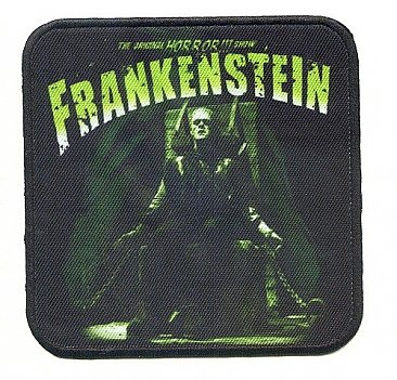Universal Monsters Frankenstein Electric Chair Patch