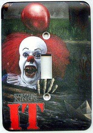 IT Pennywise the Clown Light Switch Cover