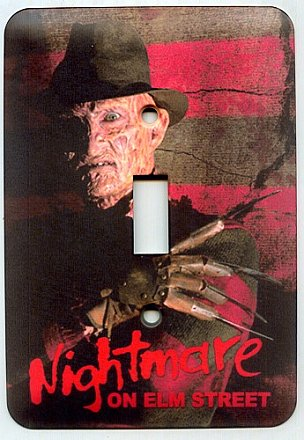 A Nightmare on Elm Street Light Switch Cover