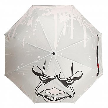 IT Pennywise Face Liquid Reactive Umbrella