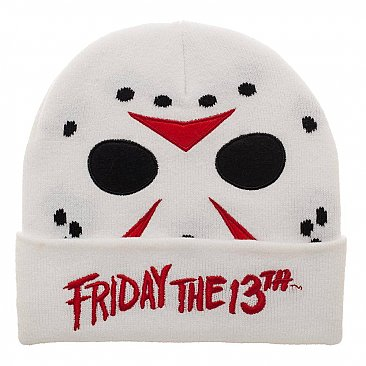 Friday the 13th Jason Knit Cap