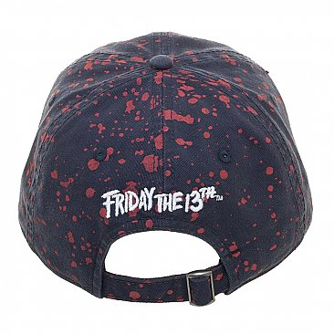 Friday the 13th Jason Splattered Dad Hat