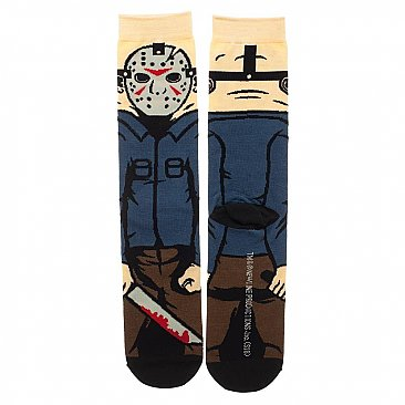 Friday the 13th Jason Voorhees Socks