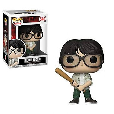 IT Richie with Bat Vinyl Pop! Figure