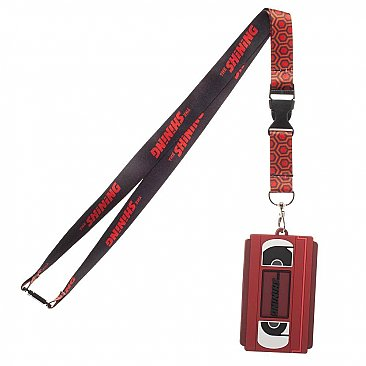 The Shining VHS Rubber ID Lanyard