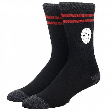 Friday the 13th Rubber Weld Crew Socks