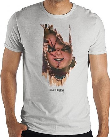 Child's Play Here's Chucky Shirt