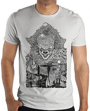 IT 2017 Pennywise Illustration Shirt