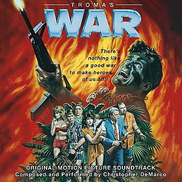 Troma's War Original Soundtrack LP