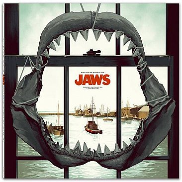 Jaws Original Motion Picture Soundtrack LP