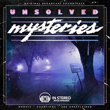 Unsolved Mysteries: Ghosts / Hauntings / The Unexplained Original Soundtrack LP