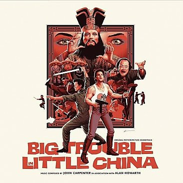 Big Trouble In Little China Original Soundtrack LP