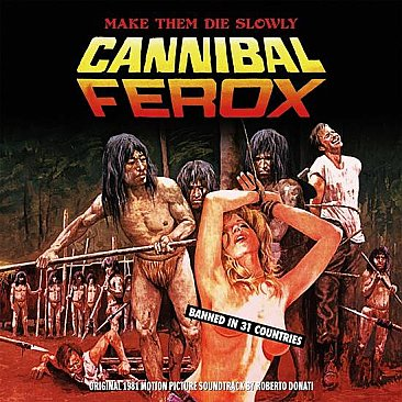Cannibal Ferox Original Soundtrack LP Black Vinyl