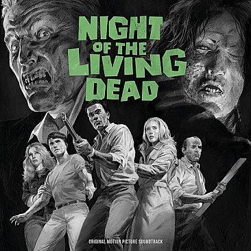 Night of the Living Dead Original Soundtrack LP