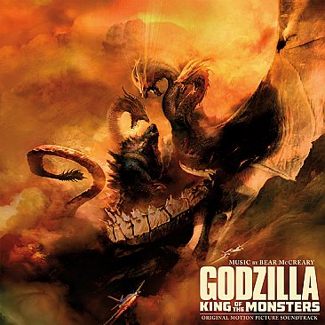 Godzilla King of the Monsters Original Soundtrack LP