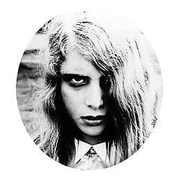 Night of the Living Dead Ghoul Girl Button