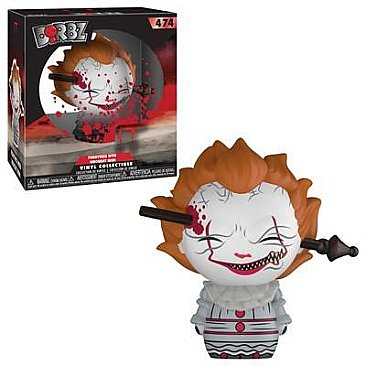 IT Pennywise 2017 Wrought Iron Dorbz Figure