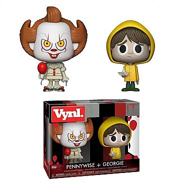 IT 2017 Pennywise & Georgie VYNL Figure 2-Pack