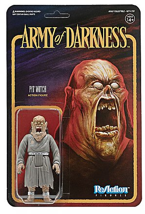Army of Darkness ReAction Pit Witch Figure