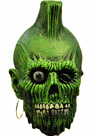 Return of the Living Dead Mohawk Zombie Mask