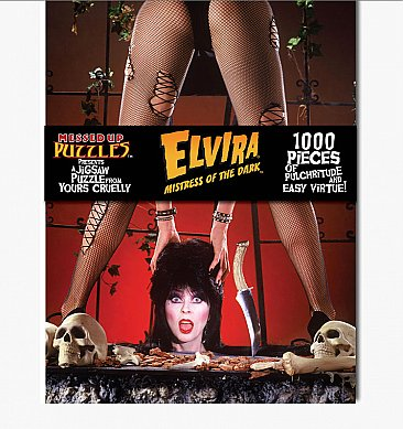 ELVIRA Jigsaw Puzzle (Version 'A')
