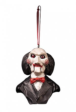 Holiday Horrors Saw Billy Ornament